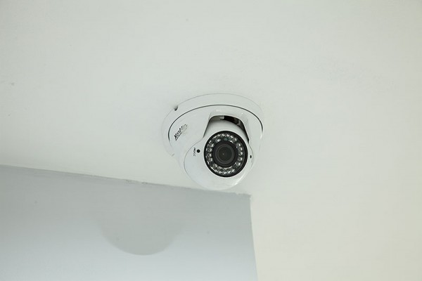CCTV cameras on every floor